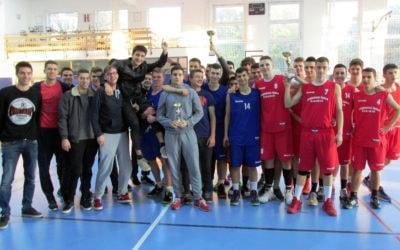 Rezultati natjecanja u košarci – mladići – srednje škole