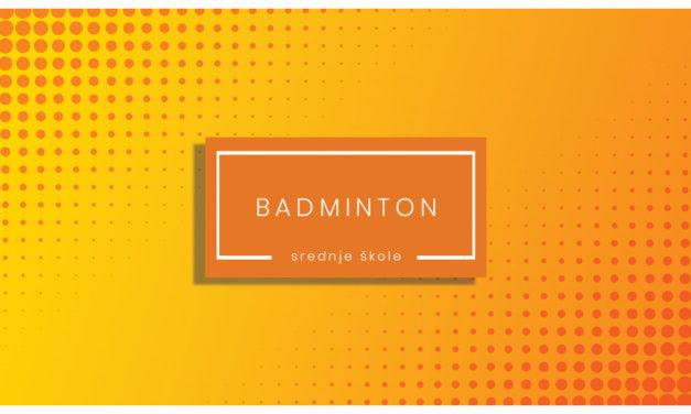 Badminton – rezultati za djevojke i mladiće – 2019-20
