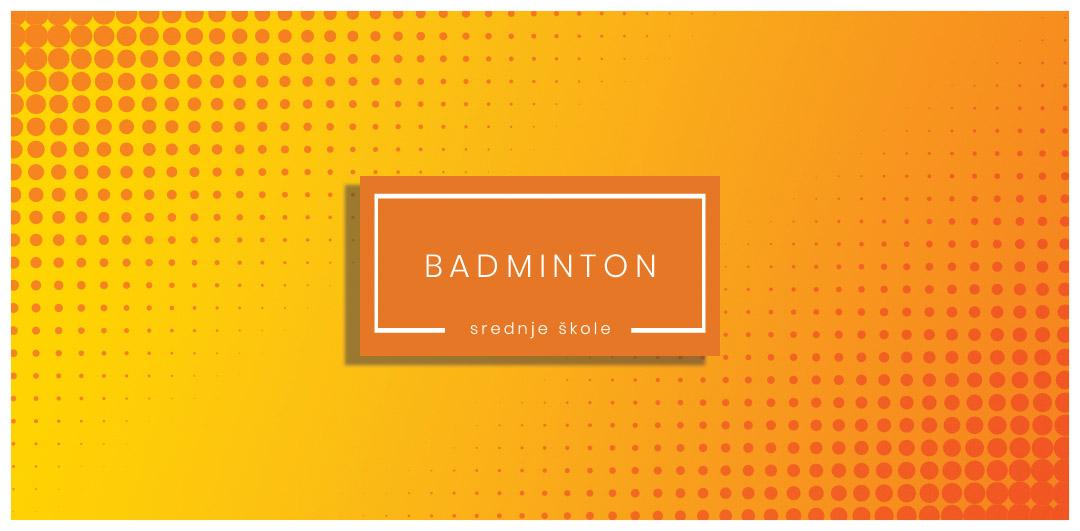Badminton - slika za sekciju badmintona srednjih škola.